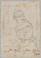 probably Mary Opie (née Bunn), by Henry Bone, after  John Opie - NPG D17552