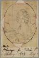 Possibly Elizabeth St Aubyn, by Henry Bone, after  Samuel Shelley - NPG D17625