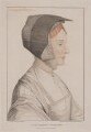 Elizabeth Dauncey (née More), by Francesco Bartolozzi, after  Hans Holbein the Younger - NPG D23485