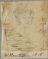 Mrs Robert Hawthorn (née Wells), by Henry Bone, after  Andrew Robertson - NPG D17746