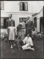 The Hollis Family, by Bassano Ltd - NPG x151160