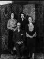 Sir William Henry Clark; Anne Elizabeth (née Monsell), Lady Clark; Elizabeth Diana Clark; Frances Elinor Clark, by Bassano Ltd - NPG x151216