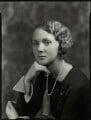 Lady Iris Victoria Beatrice Grace Kemp (née Mountbatten), by Bassano Ltd - NPG x151240