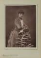 Rosalind Frances Ellicott, by Herbert Rose Barraud, published by  Eglington & Co - NPG Ax5501
