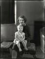 Hon. Stella Maria Glyn Wynn and her son David Jackson, by Bassano Ltd - NPG x151248