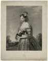 'The Fair Forester' (Mrs Barron), by George Thomas Doo, after  Henry Wyatt - NPG D21475