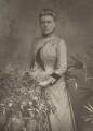 Rhoda Broughton, by Herbert Rose Barraud, published by  Eglington & Co - NPG Ax5443