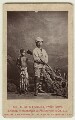 Sir Henry Morton Stanley; Kalulu (Ndugu M'hali), by London Stereoscopic & Photographic Company - NPG x128738