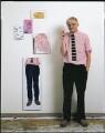 David Hockney, by Jim McHugh - NPG x128739