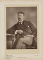 Jerome Klapka Jerome, by Herbert Rose Barraud, published by  Eglington & Co - NPG Ax27638