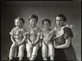 Hon. Youla Edithe Harris (née Littleton, later Wellsley) and her children, by Bassano Ltd - NPG x151280