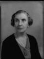 Hon. Ethel Mary Catherine D'Anyers Willis (née Skeffington), by Bassano Ltd - NPG x151285