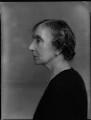 Hon. Ethel Mary Catherine D'Anyers Willis (née Skeffington), by Bassano Ltd - NPG x151286
