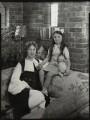 Olive Blakeney (Mrs Bernard Nedell); Betty Lou Lydon (née Nedell), by Bassano Ltd - NPG x151289