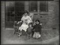 Olive Blakeney (Mrs Bernard Nedell); Betty Lou Lydon (née Nedell), by Bassano Ltd - NPG x151290