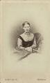 Alicia Ellen Neve Little (née Bewicke) (Mrs Archibald Little), by (Cornelius) Jabez Hughes - NPG x128756