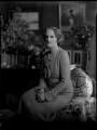 Lady Clare Mary Charlotte King (née Noel), by Bassano Ltd - NPG x151304