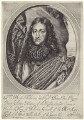 Prince Rupert, Count Palatine, by William Faithorne, published by  Peter Stent, after  William Dobson - NPG D22928