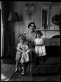 Hon. Mrs Hamilton-Russell and children, by Bassano Ltd - NPG x151327