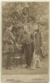 William Bell Scott; Dante Gabriel Rossetti; John Ruskin, by W. & D. Downey - NPG x12959