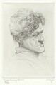 George Mackay Brown, by Freddy Theys - NPG D8979