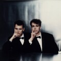 Pet Shop Boys (Chris Lowe; Neil Tennant), by Cindy Palmano - NPG x128776