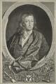 John Milton, by John Vandergucht, after  William Faithorne - NPG D23515