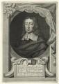 John Milton, by George Vertue, after  William Faithorne - NPG D23543