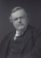 G.K. Chesterton, by Walter Stoneman - NPG x166522