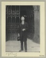 Sir Alfred Edward East, by Benjamin Stone - NPG x44667