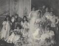Helena ('Ena') Mathias (née Wertheimer) (The wedding of Ena Wertheimer and Robert Mathias), by Cavendish Morton - NPG x128811