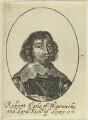 Robert Rich, 2nd Earl of Warwick, by William Faithorne - NPG D22973