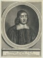 John Wallis, by William Faithorne - NPG D22975