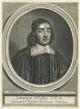 John Wallis, by William Faithorne - NPG D22976