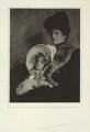 Audrey Joyce Lucia Stamp; Alice Maud Stamp (née Hunt), by Cavendish Morton - NPG x128823