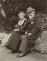 Frances Rosetta Legros (née Hodgson); Alphonse Legros, by Unknown photographer - NPG x87225