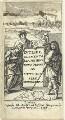 Frontispiece to 'Euclidis Elementa Geometrica Novo ordine ac Methodo Fere Demonstrata', by William Faithorne, published by  John Martyn (Martin) - NPG D22984