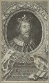 King Alfred ('The Great'), by George Vertue - NPG D23576
