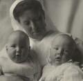 Cavendish Morton and Concord Morton with their nurse, by Cavendish Morton - NPG x128842