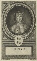 King Henry I, by John Vandergucht - NPG D23616