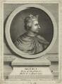 King Henry I, by Pierre François Basan, after  George Vertue - NPG D23617
