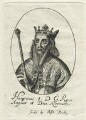 Fictitious portrait of King Henry I, probably by William Faithorne, sold by  Sir Robert Peake - NPG D23618