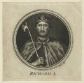 King Richard I ('the Lionheart'), by W. Proud - NPG D23632
