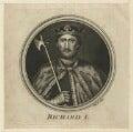 King Richard I ('the Lionheart'), by W. Proud - NPG D23632