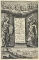Frontispiece to 'Parallelum Olivae...', by William Faithorne - NPG D22994