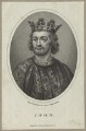 King John, by William Ridley, published by  Charles Cooke - NPG D23643
