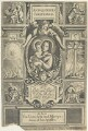Title-page to 'Antiquitates Christianae.  Or the Life and Death of the Holy Jesus', by William Faithorne, published by  Luke Meredith - NPG D22998