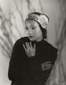 Anna May Wong, by Paul Tanqueray - NPG x180257
