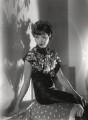 Anna May Wong, by Paul Tanqueray - NPG x180258