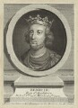King Henry III, by Pierre François Basan, after  George Vertue - NPG D23660